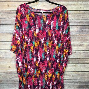 LulaRoe (1.0) 2XL Irma Floral Print - BNWT